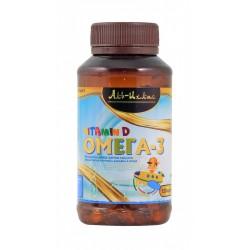 Капсулы «Омега 3 десткий + Витамин D» (Аль Ихлас) 150 кап