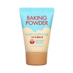 Пенка с содой - Travel-версия - Etude House Baking Powder BB Deep Cleansing Foam, 30 мл