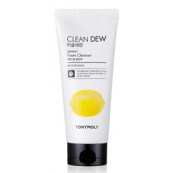 Пенка для умывания c экстрактом лимона — TONYMOLY «Clean Dew Lemon Foam Cleanser» (180мл)