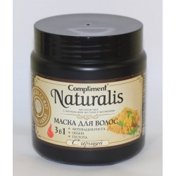 Compliment Naturalis Маска для волос 3 в 1 с горчицей, 500 мл