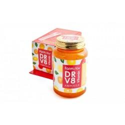 Ампульная сыворотка FarmStay DR-V8 Vitamin Ampoule с витаминами (250 мл)