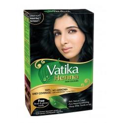 Краска для волос Vatika Henna Natural Black (черный цвет)