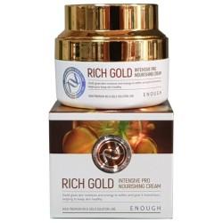 ENOUGH / Крем для лица МАТОЧНОЕ МОЛОЧКО Rich Gold Intensive Pro Nourishing Cream, 50 мл