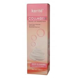 Пенка очищающая Karite collagen c щеткой