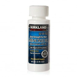 «Minoxidil Kirkland 5%» - средство для роста волос и бороды, 60 мл